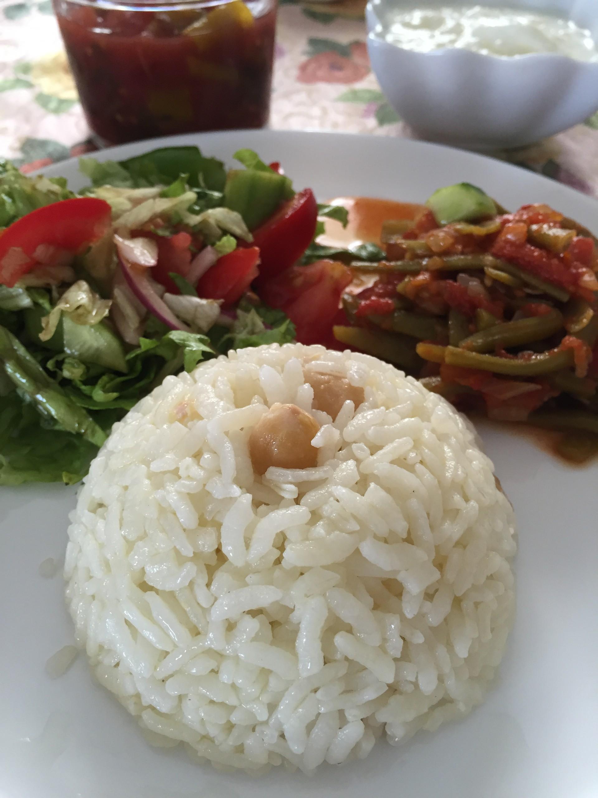 Nohutlu Pirinç Pilavı