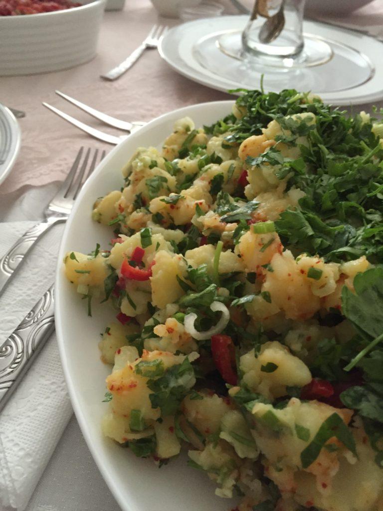 patates salatası klasik