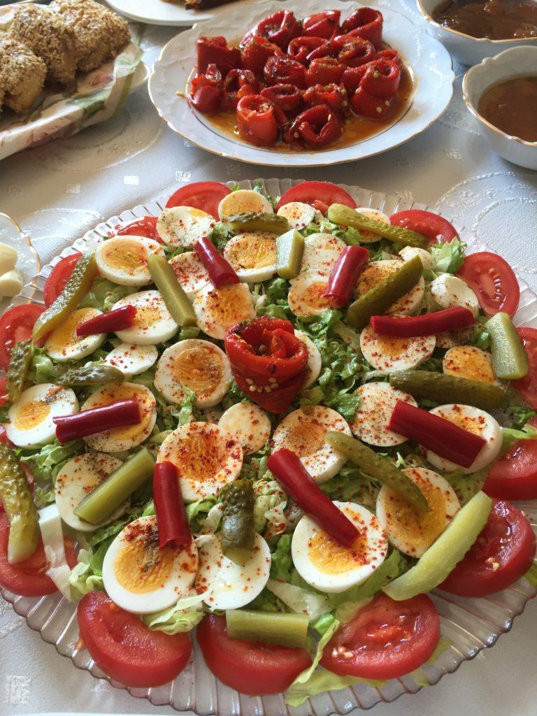 yumurta salatası en son