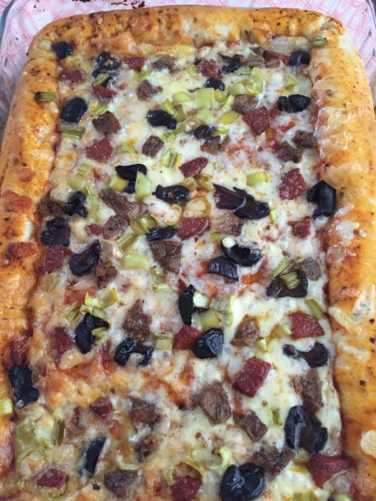 kenarlı pizza